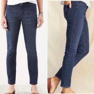 J Jill Tried & True Slim Ankle Jeans Stretch